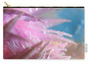 Pink Splashes Macro Carry-all Pouch