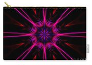 Pink Starburst Fractal  Carry-all Pouch