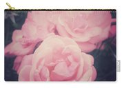 Pink Summer Roses Carry-all Pouch