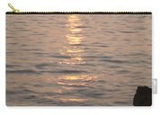 Pink Sunset Over The Istrian Peninsula Carry-all Pouch