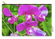 Pink Sweet Peas In Huntington Gardens In San Marino-california Carry-all Pouch