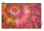 Pink Swirl Waves Carry-all Pouch