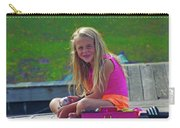 Pink Tackle Box Carry-all Pouch