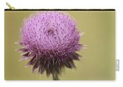 Pink Thistle Carry-all Pouch