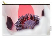 Pink Through The Poppy Carry-all Pouch