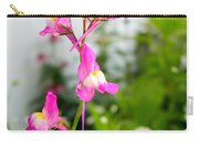 Pink Toadflax Carry-all Pouch