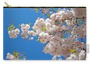 Pink Tree Blossoms Art Prints 55 Spring Flowers Blue Sky Landscape  Carry-all Pouch