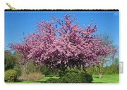 Pink Tree Carry-all Pouch