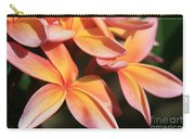 Pink Tropical Plumeria Makawao Maui Hawaii Carry-all Pouch