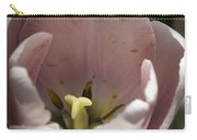 Pink Tulip Center Squared Carry-all Pouch