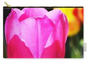 Pink Tulip In Sunlight Carry-all Pouch