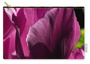 Pink Tulip Watercolor Carry-all Pouch