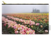 Pink Tulips And Tractor Carry-all Pouch