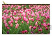 Pink Tulips At Floriade In Canberra, Australia Carry-all Pouch