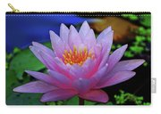 Pink Water Lily 007 Carry-all Pouch