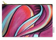 Pink Wave Of Energy. Abstract Vision Carry-all Pouch