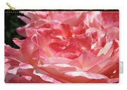 Pink White Roses Floral Art Prints Rose Baslee Troutman Carry-all Pouch