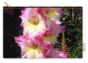 Pink-white-yellow Gladiolus Carry-all Pouch