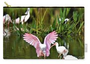 Pink Wings Carry-all Pouch