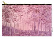 Pink Woods Carry-all Pouch