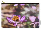 Pink Zinnia Bokeh Carry-all Pouch