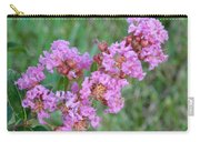 Pinkish Red Flower Bloom Close Up Carry-all Pouch