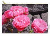 Pinks On The Rocks Carry-all Pouch