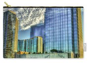 Pinnacle Building Sunset Nashville Shadows Nashville Tennessee Art Carry-all Pouch