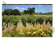 Pinot Noir And Poppies Carry-all Pouch