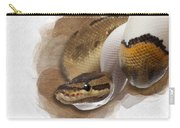 Pinstripe Pied Royal Python 01 Carry-all Pouch