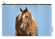 Pinto Pony Portrait Carry-all Pouch