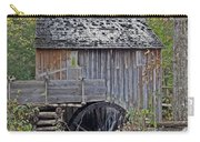 Pioneer Water Mill Carry-all Pouch by DigiArt Diaries by Vicky B Fuller