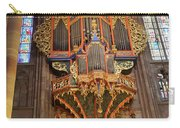 Pipe Organ In Strasbourg Cathedral Carry-all Pouch