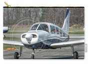 Piper Pa28 I-cnpg Taxiing To The Runway Carry-all Pouch