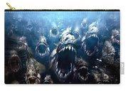 Piranha 3d Carry-all Pouch