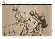 Pirate And Parrot Carry-all Pouch