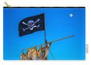 Pirate Flag And Moon Carry-all Pouch
