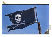 Pirate Flag Skull And Cross Bones Carry-all Pouch