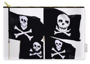 Pirate Flags Carry-all Pouch by David Lee Thompson