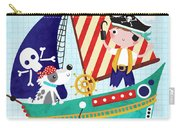 Pirate Of The Carribean Carry-all Pouch