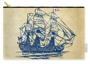 Pirate Ship Artwork - Vintage Carry-all Pouch