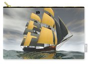 Pirate Ship On The High Seas Carry-all Pouch