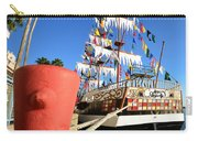 Pirates In Harbor Carry-all Pouch by David Lee Thompson