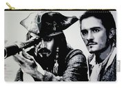 Pirates Of The Carribean Carry-all Pouch by Luis Ludzska