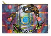 Pisces With Six Fence Lotus Carry-all Pouch