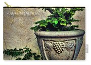 Pissarro Inspirational Quote Carry-all Pouch