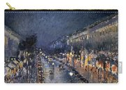 Pissarro: Paris At Night Carry-all Pouch