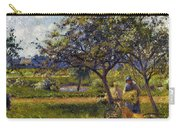 Pissarro: Wheelbarr., 1881 Carry-all Pouch by Granger
