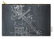 Pitch Fork Fiddle And Drum Patent 1936 - Chalk Carry-all Pouch