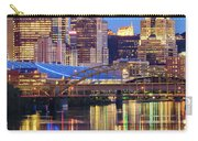 Pittsburgh 2 Carry-all Pouch by Emmanuel Panagiotakis